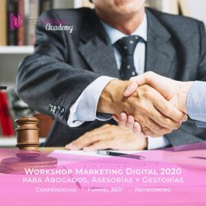 Workshop de Novedades en Marketing Digital para Abogados, Asesorías y Gestorías en  2020