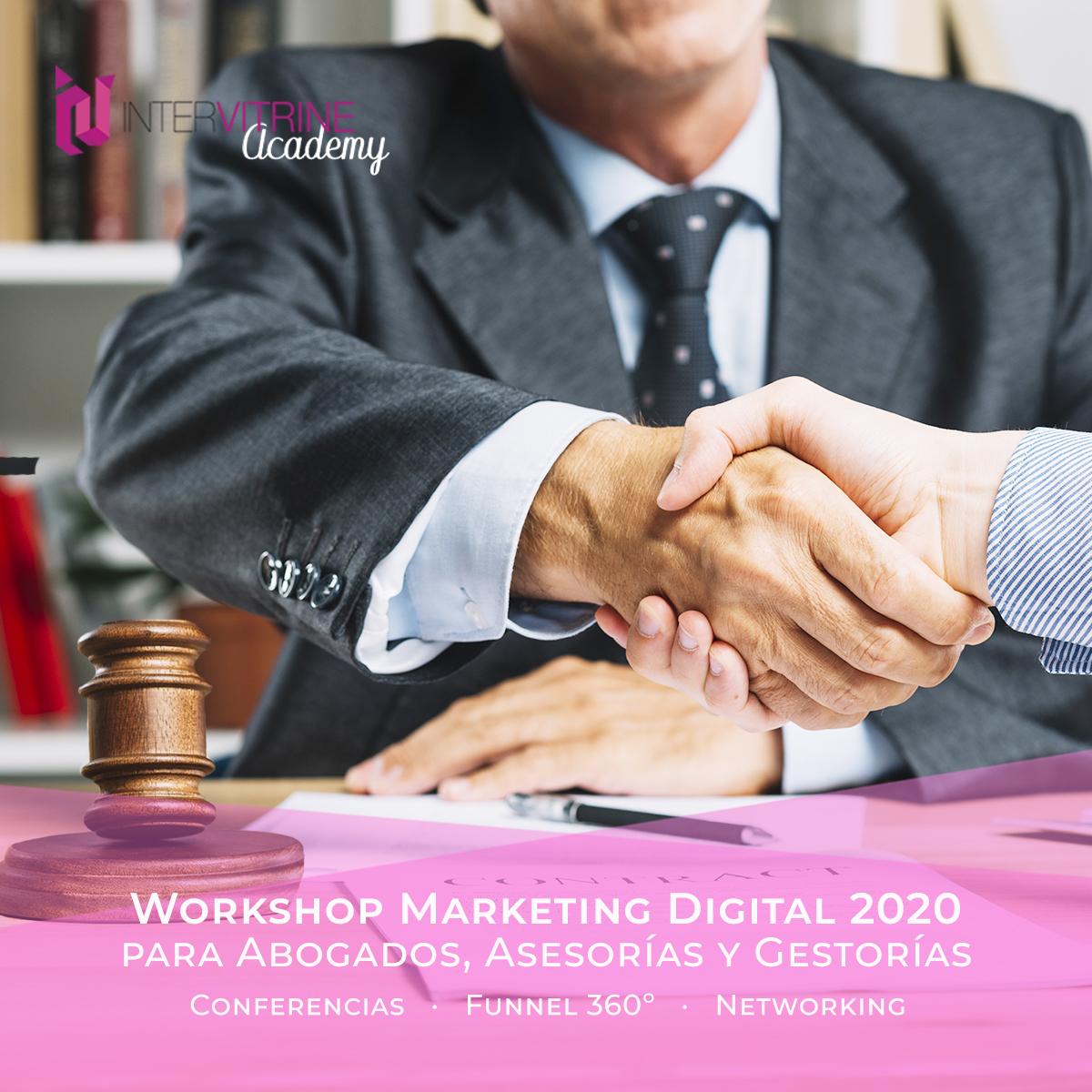 Workshop de Novedades en Marketing Digital para Abogados, Asesorías y Gestorías en  2020 1