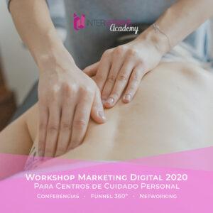 Workshop de Novedades en Marketing Digital para Centros de cuidado personal en 2020