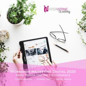 Workshop de Novedades en Marketing Digital para páginas webs E-commerce en 2020