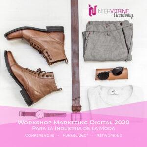Workshop de Novedades en Marketing Digital para empresas en la Industria de la Moda en 2020